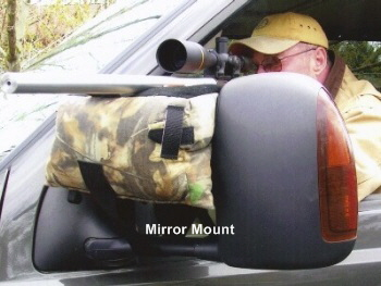 Mirror shooting rest  Bag